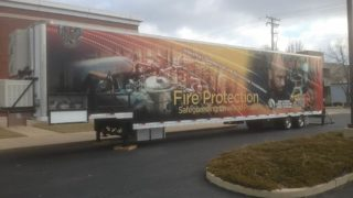 UA Fire Protection Training Trailer