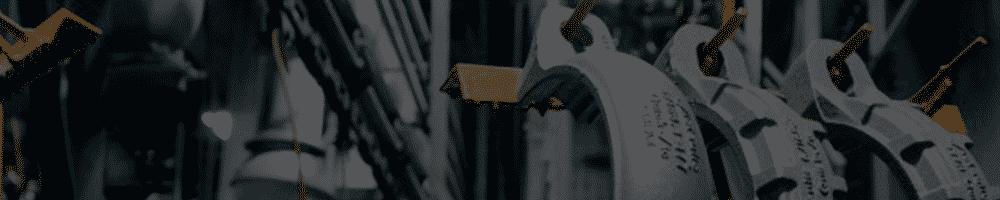 Imagen de unión de tuberías en encabezado de página de Victaulic
