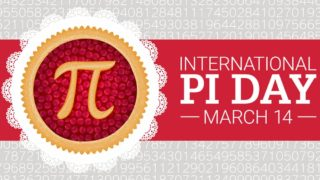 Image of Pi Symbol- International Pi Day- March 14th