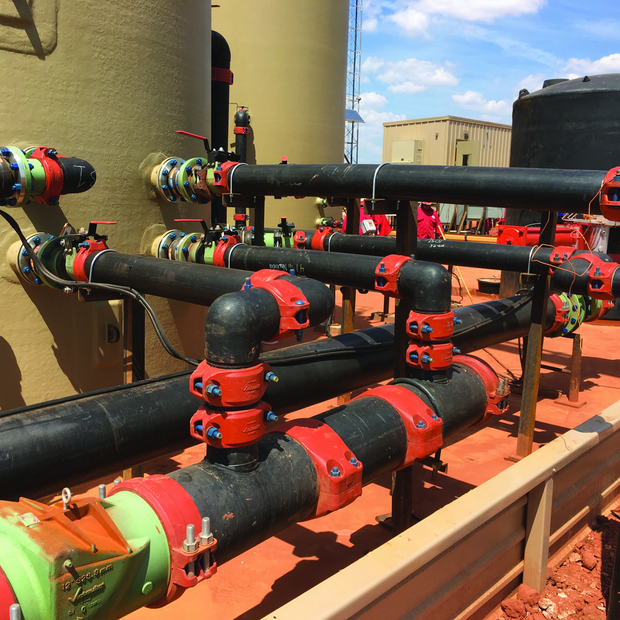 System Solution for HDPE Pipe