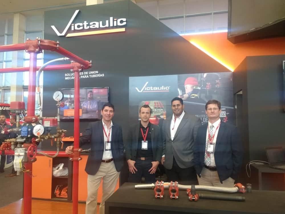 Victaulic auf der International Security Fair Expo in Seguridad in Kolumbien