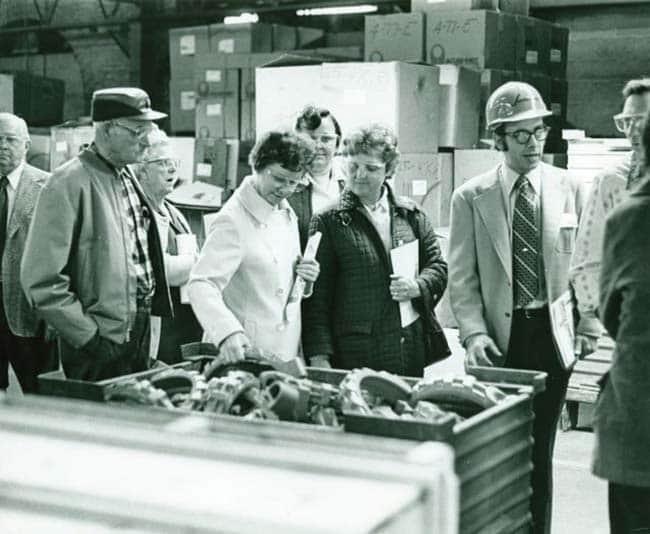 Kundenbesuch - 1975