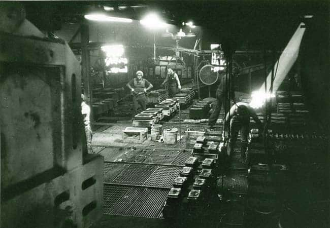 Lehigh Inc., located along the riverbank in Easton, PA, was Victaulic's largest available iron casting supplier.