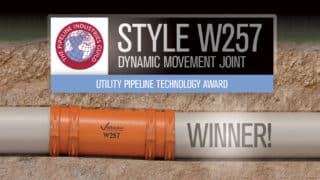 "Victaulic W257 Dynamic Movement Joint Wins Pipeline Industry Guild ""Utility Pipeline Technology Award"""