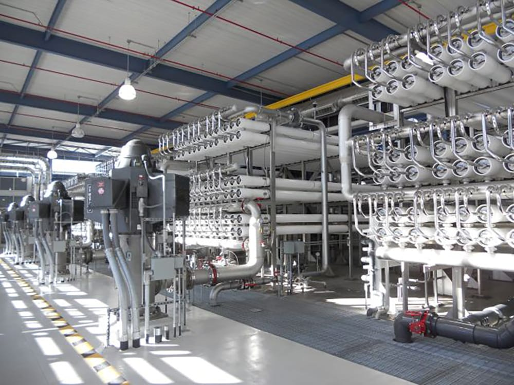 Desalination Facility Piping System