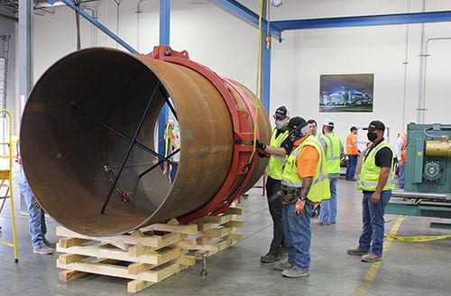 Victaulic Hosts Large Diameter Pipe Joining Training
