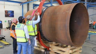 Victaulic hosts NEWPP Contractor for Large Diameter Pipe Joining Training
