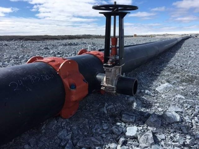 HDPE Mining Pipeline with Victaulic Couplings