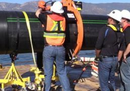 Subsea Pipe Preparation with Victaulic Coupling